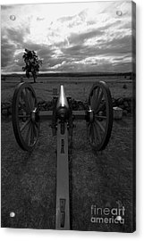 In The Sights At Gettysburg Acrylic Print by James Brunker