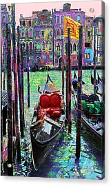 In The Stable Acrylic Print by Steven Boone