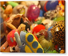 In The Toy Chest Acrylic Print by Dan Sproul