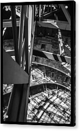 In The Trusses Acrylic Print