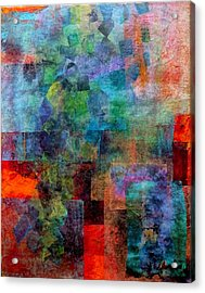 Acrylic Print featuring the mixed media In The Wind by Jim Whalen