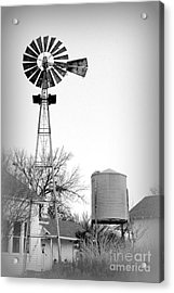In The Windmills Of Your Mind Acrylic Print by Kathy  White