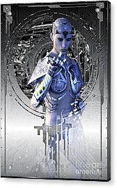 In The Year....2525 Acrylic Print by Shadowlea Is