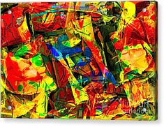 In Times Of Stress ... Acrylic Print by Gwyn Newcombe