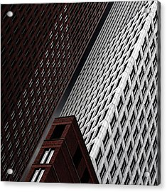 In Tribulation Acrylic Print by Gilbert Claes