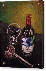 In Vino Veritas Acrylic Print