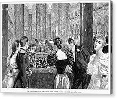 Inaugural Ball, 1893 Acrylic Print