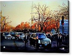 Inaugural Acrylic Print by Ron Bigony