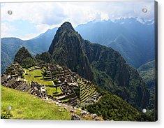 Inca City Machu Picchu Acrylic Print