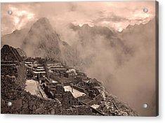 90262 Inca Ruins Machu Picchu Peru Acrylic Print