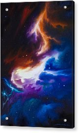 Incarus Nebula Acrylic Print by James Christopher Hill
