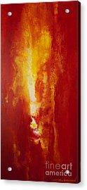 Incendie Acrylic Print by Todd Karleskein