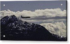 Incoming Flight Acrylic Print