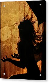 Incubus Acrylic Print by Cambion Art