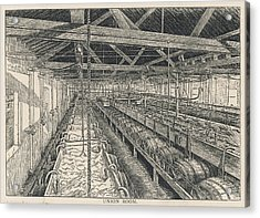 Ind Coope Brewery, Burton Acrylic Print by Mary Evans Picture Library