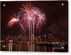 Independence Day Acrylic Print by Kim Quintano