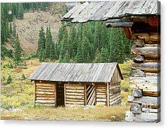 Independence Ghost Town Acrylic Print by David Davis