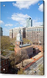 Independence Hall Philadelphia Acrylic Print by Kay Pickens