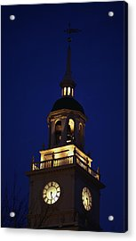 Independence Hall Tower Philadelphia Pa Acrylic Print by Panoramic Images