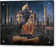 India Acrylic Print by Joachim G Pinkawa