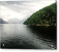 Indian Arm Twin Islands - British Columbia Acrylic Print