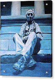 The American Acrylic Print by Schwartz