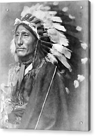 Indian Chief - 1902 Acrylic Print