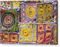Indian Cloth Acrylic Print by Tom Gowanlock