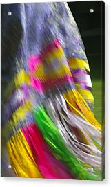 Indian Dance Acrylic Print