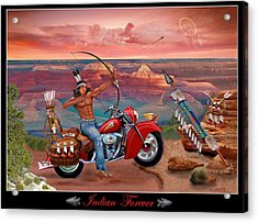 Indian Forever Acrylic Print by Glenn Holbrook