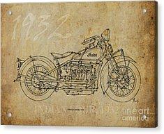Indian Four 1932 Acrylic Print