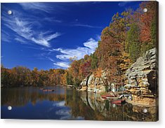 Acrylic Print featuring the photograph Indian Lake by Wendell Thompson