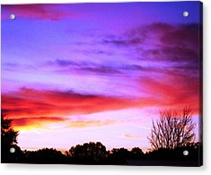Indian Morning Sky Acrylic Print