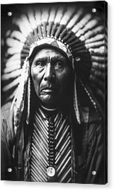 Indian Of North America Circa 1905 Acrylic Print