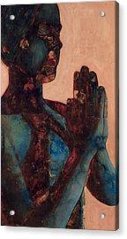 Indian Prayer Acrylic Print by Graham Dean