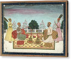 Indian Rajas Acrylic Print by British Library