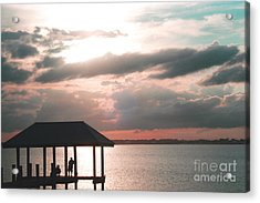 Acrylic Print featuring the photograph Indian River Lagoon by Megan Dirsa-DuBois