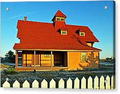Indian River Lifesaving Station Museum Acrylic Print
