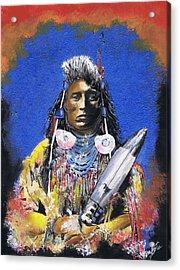 Indian Warrior 1 Acrylic Print