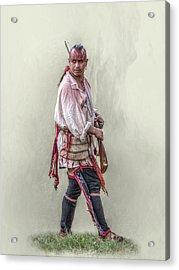 Indian Warrior Two Grand Encampment  Acrylic Print