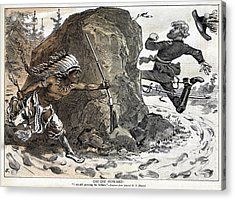 Indian Wars, 1878 Acrylic Print by Granger