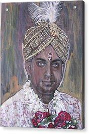 Indian Wedding Acrylic Print