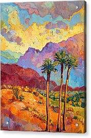 Indian Wells Acrylic Print by Erin Hanson