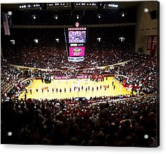 Indiana Hoosiers Assembly Hall Acrylic Print by Replay Photos