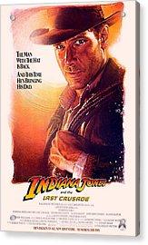 Indiana Jones And The Last Crusade  Acrylic Print