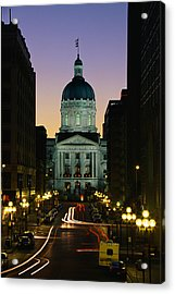 Indiana State Capitol Building Acrylic Print
