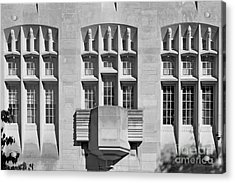 Indiana University Myers Hall Acrylic Print by University Icons