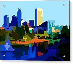 Indianapolis Cityscape Acrylic Print