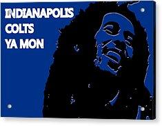 Indianapolis Colts Ya Mon Acrylic Print by Joe Hamilton