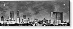 Indianapolis Indiana Skyline 0762 Acrylic Print